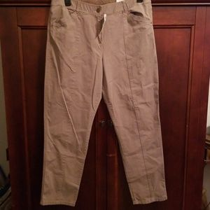 Chico's Casual cotton ankle pant 2.5